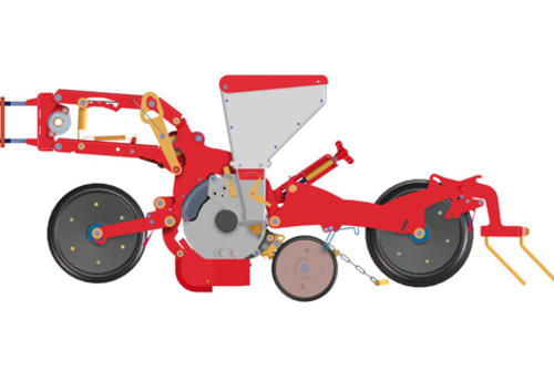 Single sowing unit